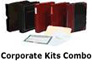 minute book binder, corporate kit combo, blank stock certificate, gold label paper