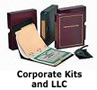 corporate kits, corporate books, corporation kit, incorporate kits, LLC kits