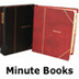 minute books,minute book binders,corporate book