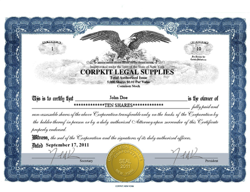 Digital Electronic Products Electronic Kit Electronic Certificates - S corporation stock certificate template