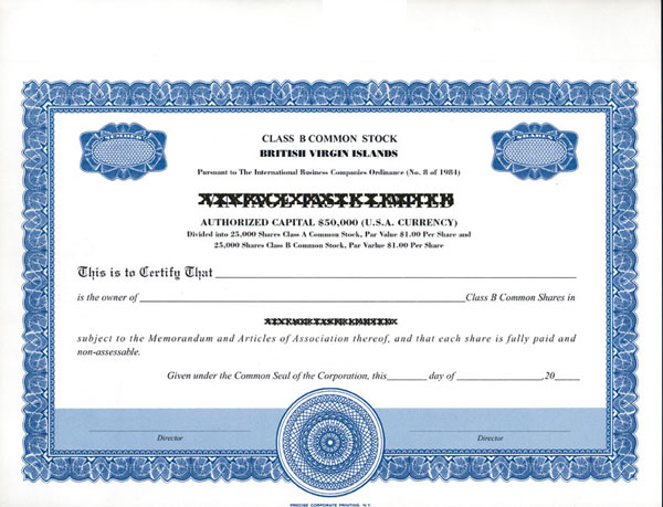Stock Certificatesllc Certificates Share Certificates Goes – Example of Share Certificate