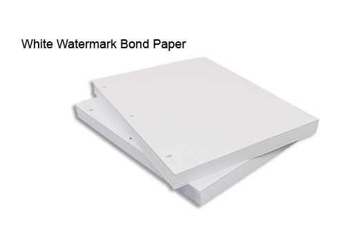 bond paper without watermark Items 1 - 18 of 32  85 x 11 24lb writing classic crest solar white (no watermark) $3469 500  sheets / pkg 85 x 11 80lb cover classic crest solar white.